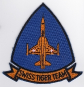 Swiss Air Force Patch Tiger Team Patrouille Suisse Display Team