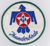 USAF Patch Display US Air Force Thunderbirds Aerobatic Team F16