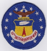 USAF Patch Fighter USAFE 36 TFW Tactical Ftr Wing F 4 4d EB