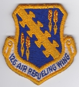 USAF Patch ANG Refueling 126 ARW Air Ref Wing KC 97 EB