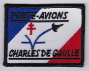 French Naval Aviation Aeronavale Patch Ship Charles De Gaulle EB