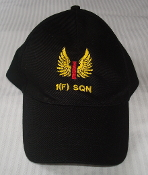 RAF Cap 1 Fighter Squadron Embriodered Badge Baseball Cap Hat