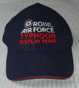 RAF Cap Typhoon Display Team Baseball Cap Hat 2011