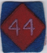 British Army Airborne Patch 44 Ind Para Brigade Provost Co DZ