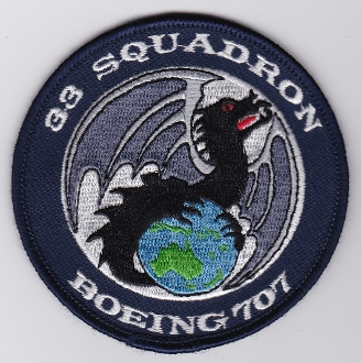 RAAF Patch Sqn Royal Australian Air Force b 33 Squadron 707