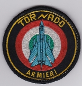 Italian Patch Air Force Aeronautica Militare AM Tornado Armourer