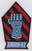 US Navy Aviation Patch Attack VA 43 Strike Squadron A 4 Skyhawk