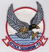 US Navy Aviation Patch Attack VA 72 Strike Squadron A 4 Skyhawk