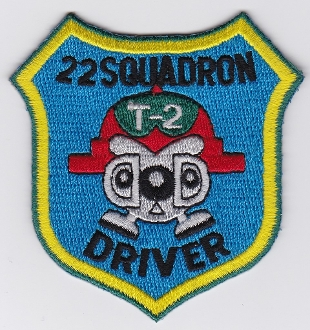 JASDF Patch Tng Japan Air Self Defence Force 22 Squadron T 2
