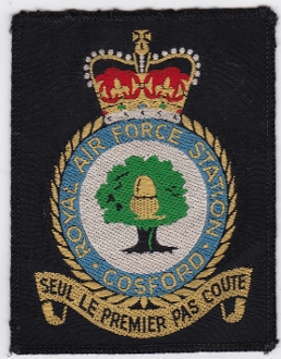 RAF Patch Training Royal Air Force Station Cosford Crest SOTT