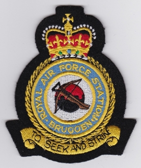 RAF Patch Station Royal Air Force Bruggen W Germany Cold War