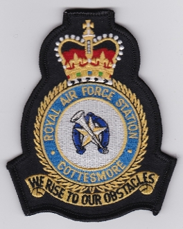 RAF Patch Station Royal Air Force Cottesmore Crest JF Harrier