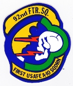 USAFE US Air Force Europe Stickers Zaps Patch Decals