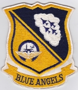 US Navy Aviation Patch y Blue Angels Demo Squadron A 4 Skyhawk