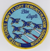 US Navy Aviation Patch y Blue Angels Demo Squadron FA 18 Hornet