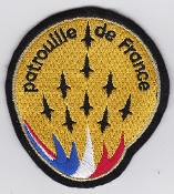 French Air Force ALA Patch Display Patrouille De France Team a