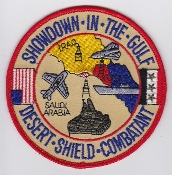 USAF US Navy US Army Patch TDY Operation Desert Shield Combatant