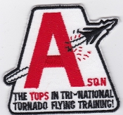 RAF Patch Royal Air Force TTTE Tri National Tornado Training A