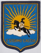 Italian Patch Air Force Aeronautica Militare AM Stormo 2 Caccia