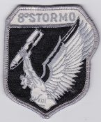 Italian Patch Air Force Aeronautica Militare AM Stormo 8 G 91Y