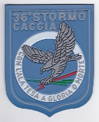 Italian Patch Air Force Aeronautica Militare AM Stormo 36 F 104