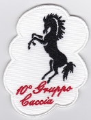 Italian Patch Air Force Aeronautica Militare AM Gruppo 10 F 104