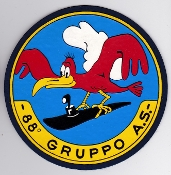 Italian Patch Air Force Aeronautica Militare AM Gruppo 88 AS