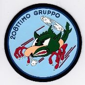 Italian Patch Air Force Aeronautica Militare AM Gruppo 208 AB204
