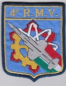 Italian Patch Air Force Aeronautica Militare AM Maint 4 RMV F104