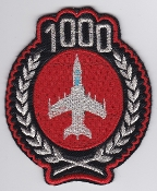 Italian Patch Air Force Aeronautica Militare AM OCU 101 AMX 1000