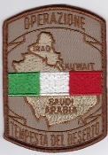 Italian Patch Air Force Aeronautica Militare AM u Desert Storm