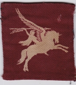 British Army Airborne Patch 1 And 6 Airborne Division Pegasus Pr