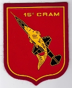 Italian Patch Air Force Aeronautica Militare AM v Radar 15 CRAM