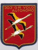 Italian Patch Air Force Aeronautica Militare AM Gruppo 303 a