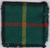 British Army Airborne Patch 15 Scottish Battalion Parachute Regt