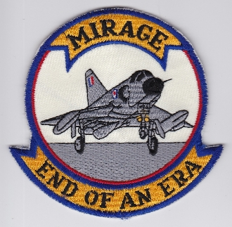 RAAF Patch Sqn Royal Australian Air Force 3 Squadron a Mirage b