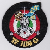 Italian Patch Air Force Aeronautica Militare AM Gruppo 20 F 104