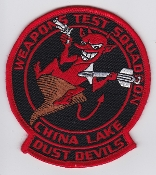 US Navy Aviation Patch RDT&E  VX 31 Weapons Test Sqn China Lake