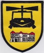 German Army Aviation Patch 10 Regiment Airmobile Huey UH 1D