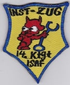 German Army Aviation Patch 25 Regiment Ktgt 14 Inst Afghanistan