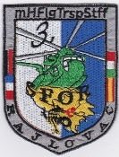 German Army Aviation Patch 25 Regiment SFOR mHFlgTrspStff Bosnia