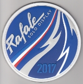 French Air Force ALA Patch Display Rafale Solo 2017 EC 1 7
