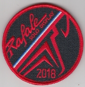 French Air Force ALA Patch Display Rafale Solo Display 2018